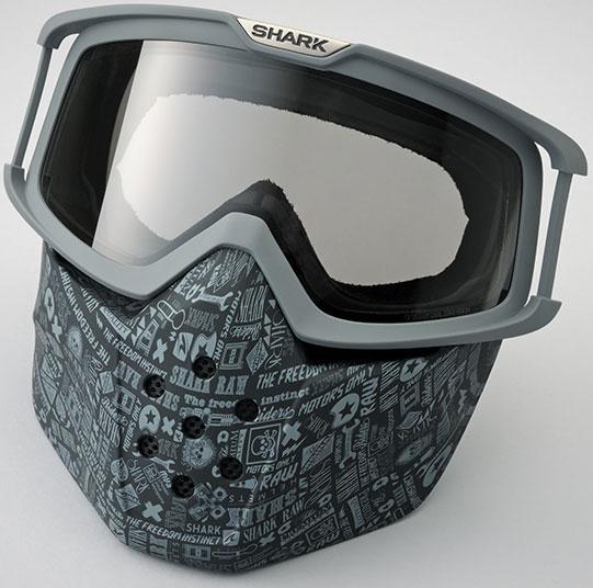 SHARK DRAK【ダラク】用 マスク&ゴーグルキット