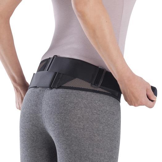 MIZUNO 腰部骨盤ベルト(メッシュタイプ/補助ベルト付)