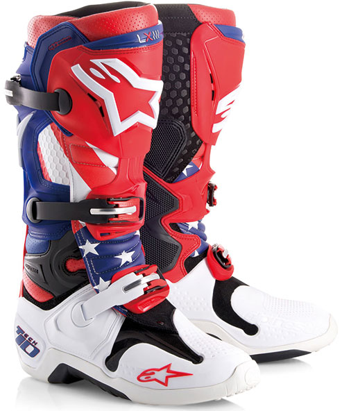alpinestars TECH10 LE motocross boots