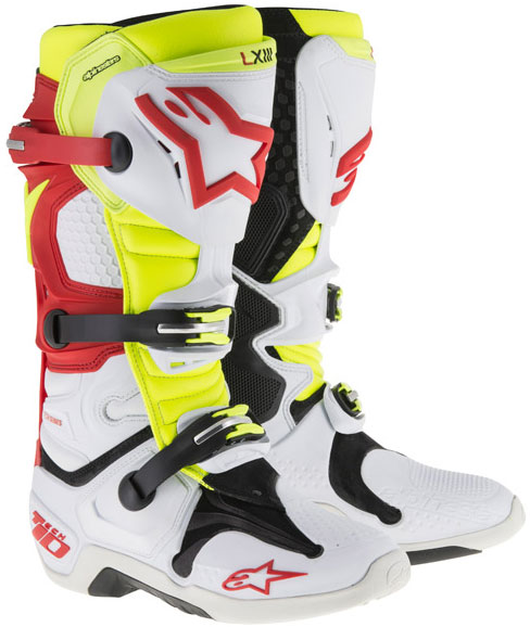 alpinestars TECH10 motocross boots