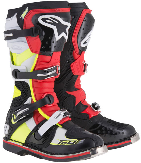 alpinestars TECH8 motocross boots
