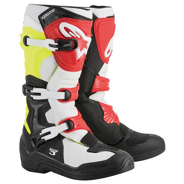 alpinestars 〔WEB価格〕TECH3 ブーツ ブラック/ホワイト/イエローフロー/レッド ◆全4色◆