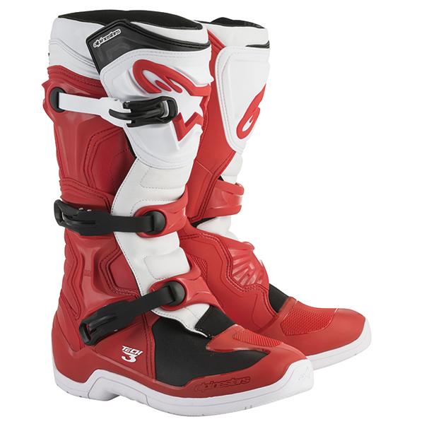 alpinestars 〔WEB価格〕TECH3 ブーツ レッド/ホワイト ◆全4色◆