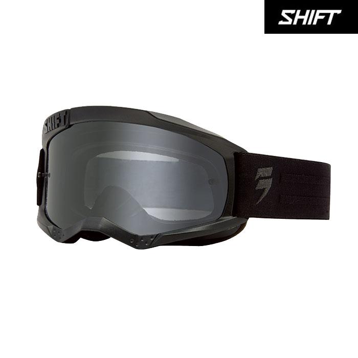 SHIFT 〔WEB価格〕ホワイトレーベル ゴーグル ブラック/グレー◆全4色◆