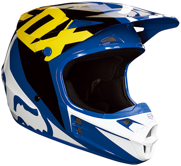 FOX RACING 〔WEB価格〕V1 レース オフロードヘルメット 【RACE】
