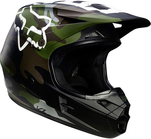 FOX RACING 〔WEB価格〕V1 カモ オフロードヘルメット 【CAMO】