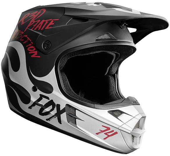 FOX RACING V1 ロッドカ スペシャルエディション ヘルメット