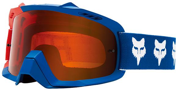 FOX RACING エアスペース ゴーグル ドラフター ブルー