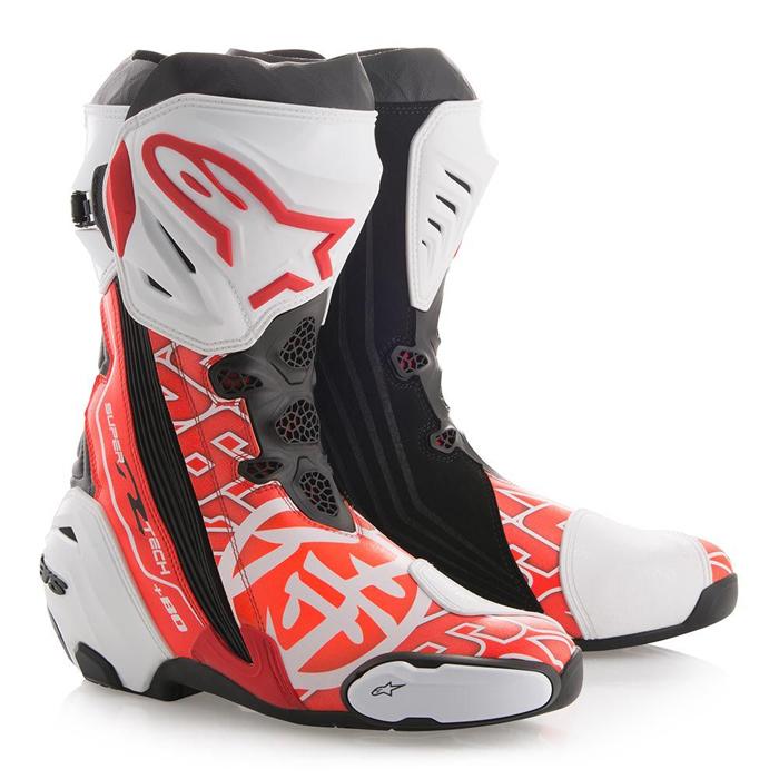 alpinestars 【リミテッドエディション・残りわずか!】SUPERTECH R BOOTS SAMURAI LE ダニ・ペドロサレプリカモデル