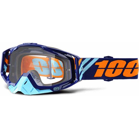 100% 17-18モデル ゴーグル RACECRAFT 【レースクラフト】 CALCULUS NAVY