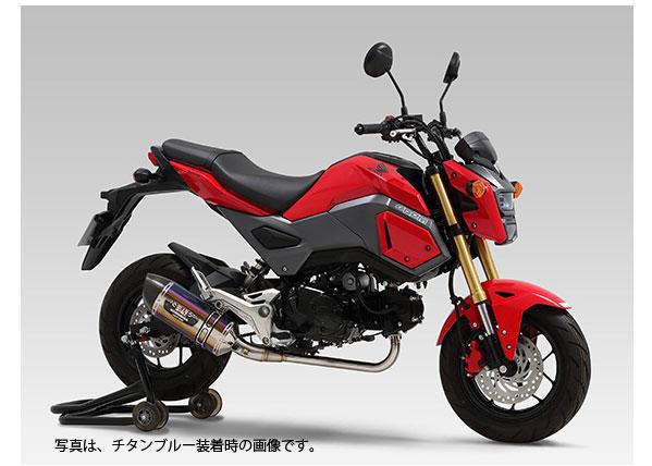 YOSHIMURA JAPAN 【お取り寄せ】機械曲 R-77Sサイクロン カーボンエンド TYPE-Down EXPORT SPEC(SSC) GROM