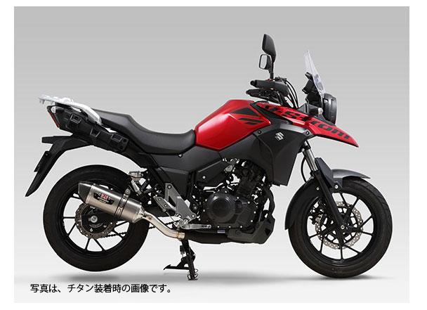 YOSHIMURA JAPAN Slip-On R-77S サイクロン EXPORT SPEC 政府認証  V-STROM250 2017年