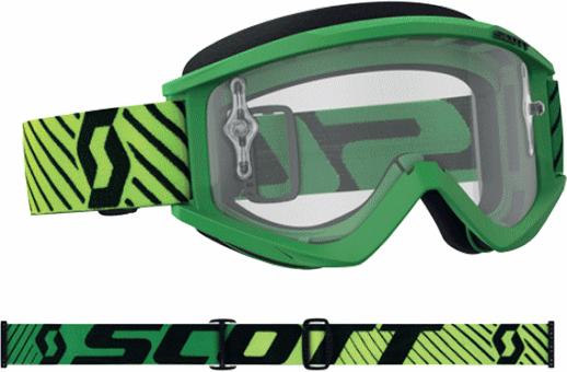 SCOTT 18モデル RECOIL XI ゴーグル グリーン/イエロー