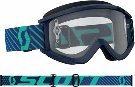 SCOTT 18モデル RECOIL XI ゴーグル ブルー/ティール