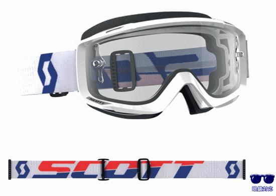 SCOTT 18モデル SPLIT OTG 眼鏡対応ゴーグル ホワイト/レッド