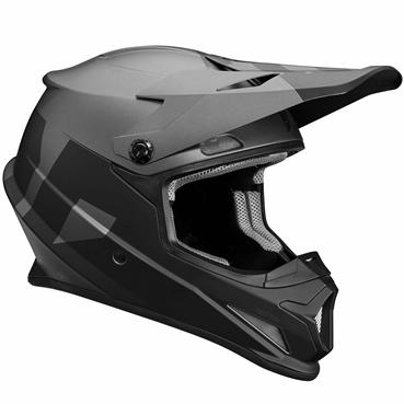 THOR 2018年モデル ヘルメット SECTOR 【セクター】LEVEL ブラック/グレー