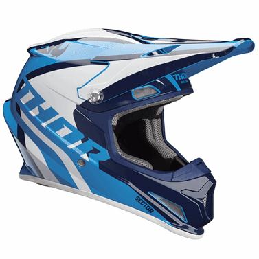 THOR 2018年モデル ヘルメット SECTOR 【セクター】 RICOCHET ネイビー/ブルー