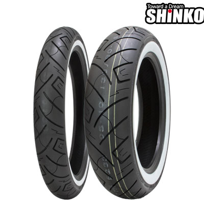 SHINKOタイヤ SR777-100/90-19 W1 フロント