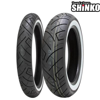 SHINKOタイヤ SR777-170/80B15 W1  リア