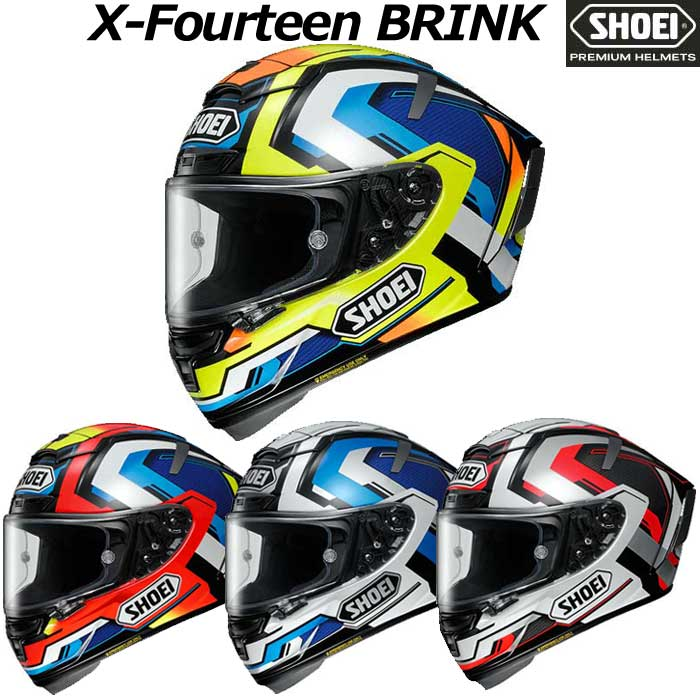 SHOEI ヘルメット X-Fourteen BRINK【エックス-フォーティーン ブリンク】 フルフェイス ヘルメット