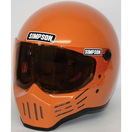 SIMPSON 【お取り寄せ】MODEL30 『M30』 オレンジ フルフェイスヘルメット オレンジ