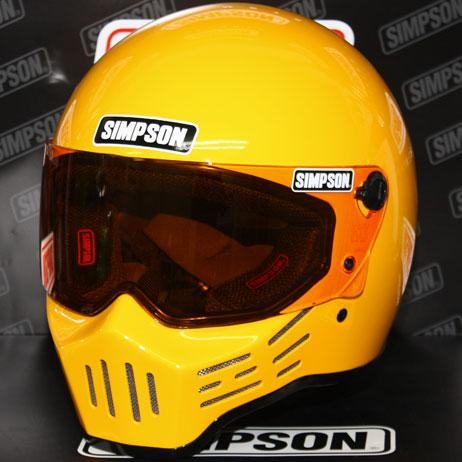 SIMPSON 【お取り寄せ】 MODEL30 『M30』 イエロー フルフェイスヘルメット イエロー