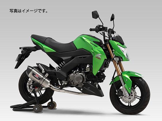 YOSHIMURA JAPAN 機械曲R-77Sサイクロンカーボンエンド EXPORT SPEC 政府認証 Z125 PRO 2016年