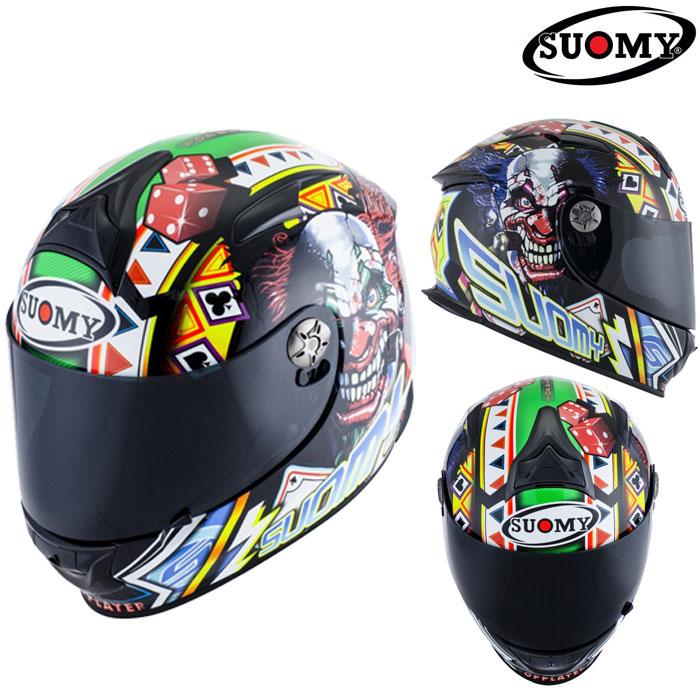 スオーミー 〔WEB価格〕SSR0021 GANBLE TOP PLAYER【ギャンブル トップ プレイヤー】フルフェイスヘルメット