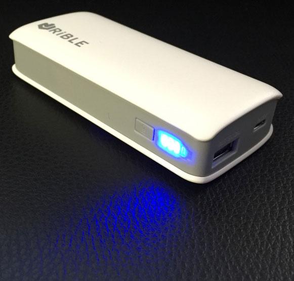 Rible クロスヒート USB リチウムポリマーバッテリー