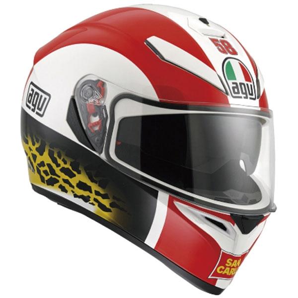 AGV 【EC会員限定特価】K-3 SV ヘルメット シモンチェリー