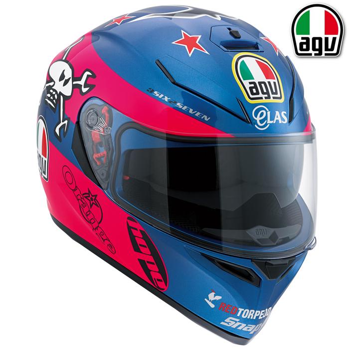 AGV 【WEB限定】K-3 SV GUY MARTIN PINK[ガイ・マーティン ピンク] レプリカ