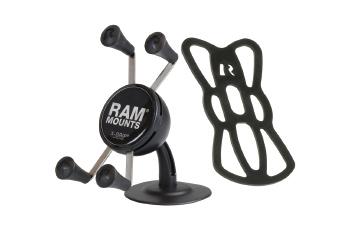 RAM MOUNTS Xグリップ汎用車載セット スマートフォン用 テザー付 RAP-SB-180-UN7U