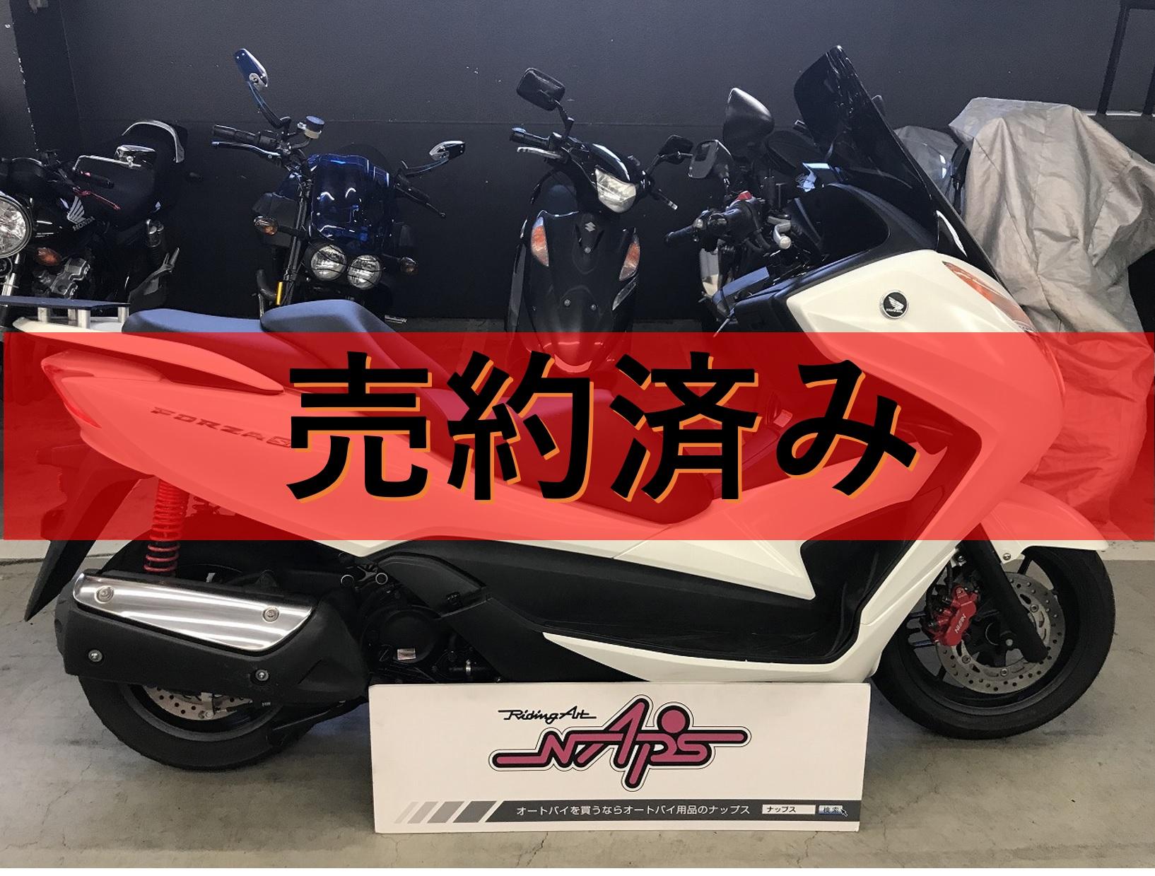 HONDA 【販売車両】フォルツァSi  ロングスクリーン/リアキャリア付