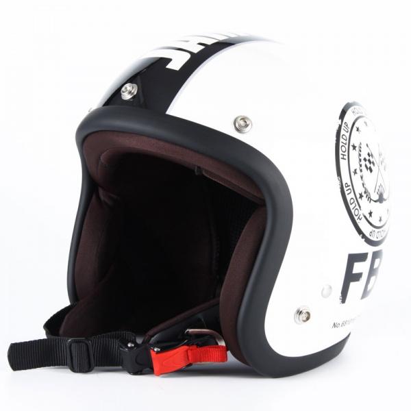 ジャムテックジャパン 【WEB限定】ジェットヘルメット 【F.B.I】