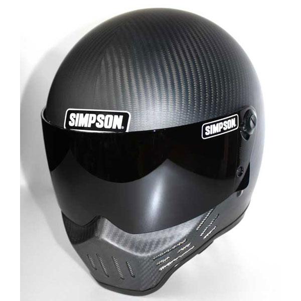 SIMPSON 〔WEB価格〕MODEL30 『M30』 マットカーボン フルフェイス ヘルメット