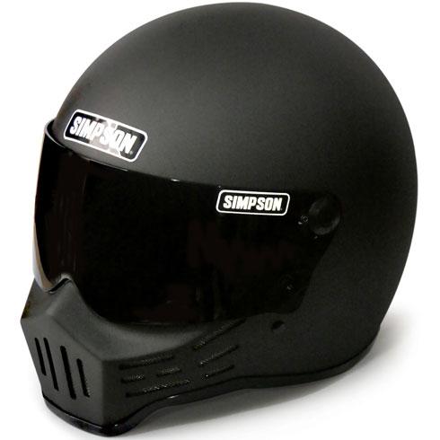 SIMPSON 〔WEB価格〕MODEL30 『M30』 ストーンブラック フルフェイス ヘルメット