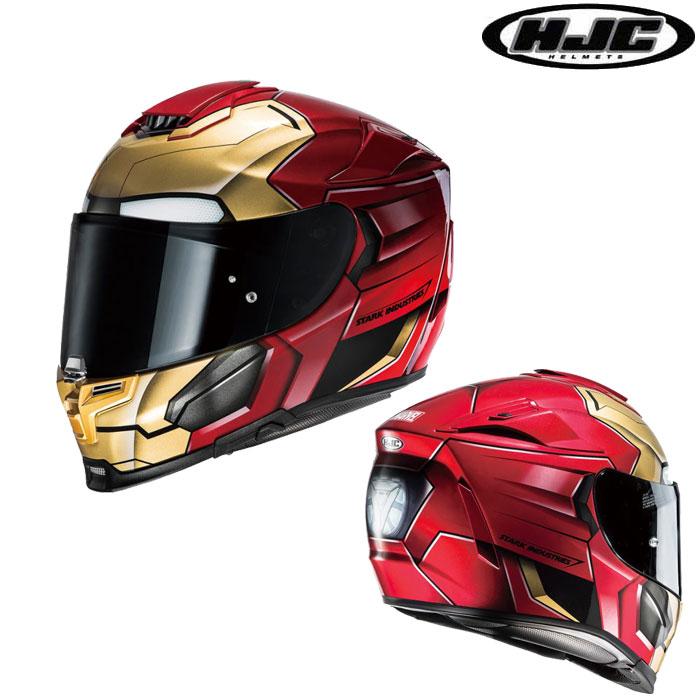 HJC 〔WEB価格〕HJH139 MARVEL RPHA70 IRONMAN HOMECOMING【アイアンマン ホームカミング】フルフェイスヘルメット