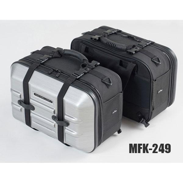 TANAX 〔WEB価格〕ツアーシェルケース2 MFK-249 ヘアラインシルバー 4510819105392