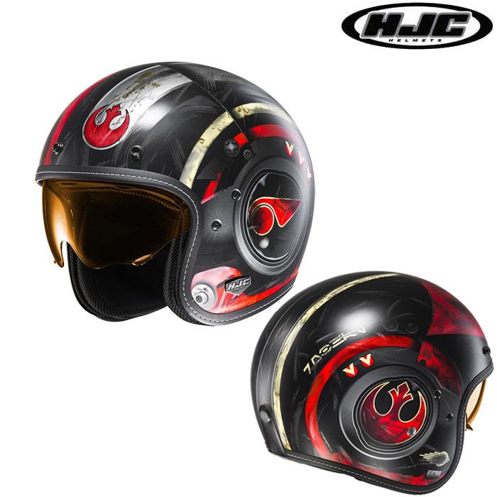 HJC 〔WEB価格〕HJH142 STARWARS FG-70s POE DAMERON 【スター・ウォーズ ポー・ダメロン】 ジェットヘルメット