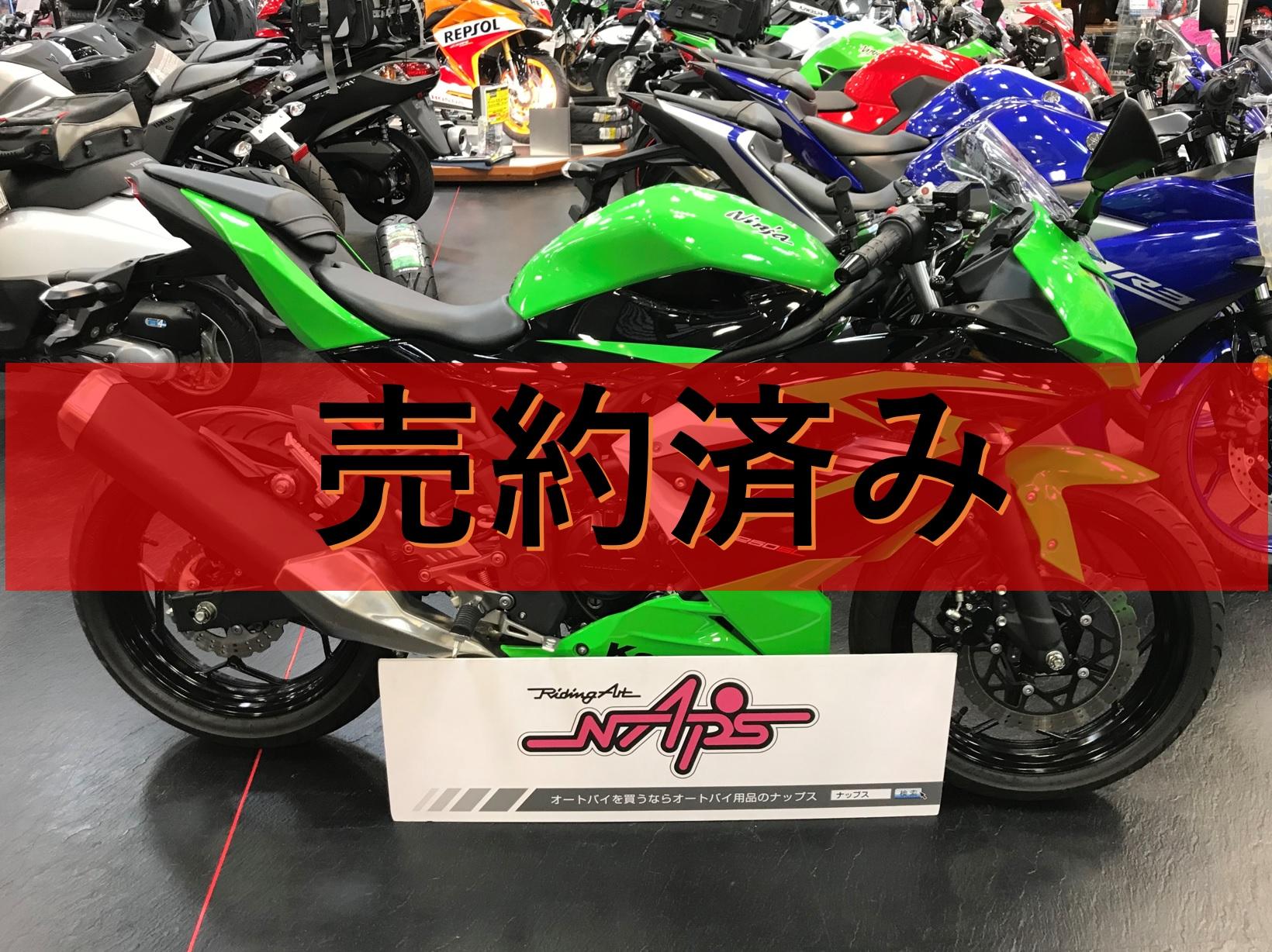 KAWASAKI 【販売車両】NINJA250SL エンジンスライダー/ETC/ハンドルステー付き