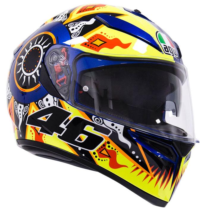 AGV 【WEB限定】『アウトレット品』K-3 SV ROSSI 2002【ロッシ】 フルフェイス ヘルメット