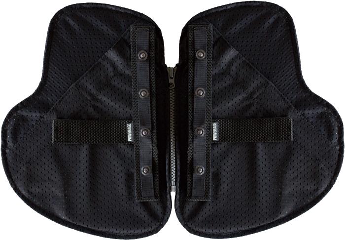 POWERAGE 〔WEB価格〕PA-538 インナープロテクターPORON 胸部用  ボタン・ベルクロ両用タイプ