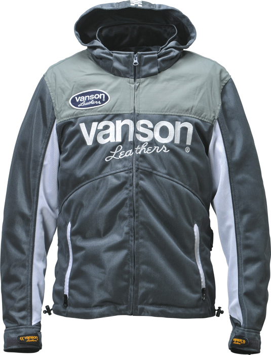 VANSON VS18104S メッシュパーカージャケット -オリーブ-