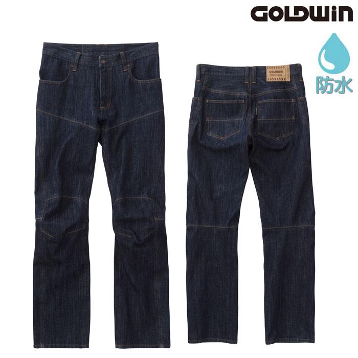GOLDWIN GSM23801 GWS ゴアテックスデニムパンツ ワンウォッシュ(OW)◆全2色◆
