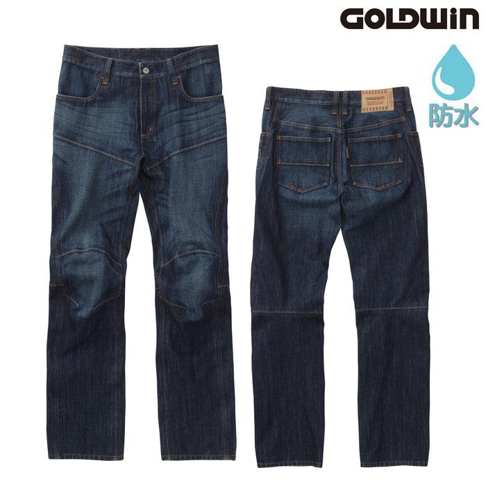 GOLDWIN GSM23801 GWS ゴアテックスデニムパンツ ハードウォッシュ(HW)◆全2色◆