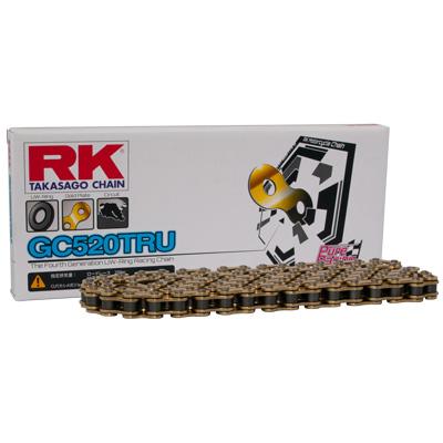 RK JAPAN 〔WEB価格〕GC520TRU ロードレース用[ゴールド] 110L