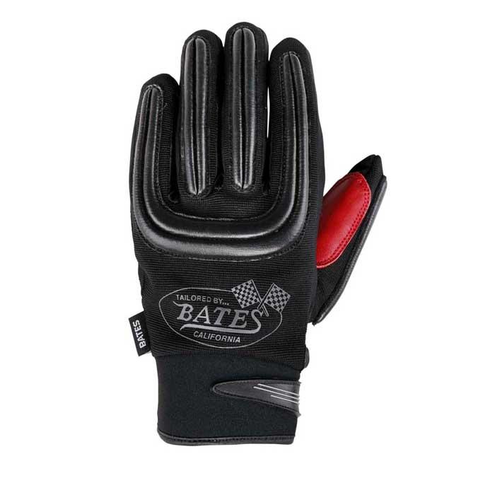 BATES BAG-M020ST メッシュ&レザーグローブ タッチパネル対応 ブラック◆全3色◆