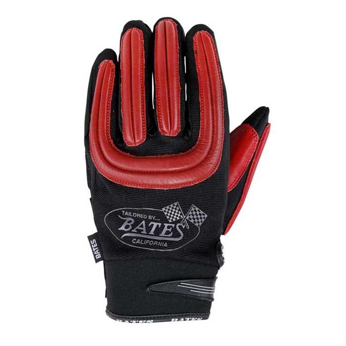 BATES 【レディース】 BAG-M020ST メッシュ&レザーグローブ タッチパネル対応 レッド