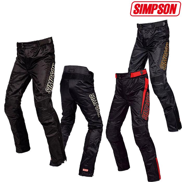 SIMPSON 【WEB限定 残り僅かの大特価!】STP-8111 ツーリングパンツ