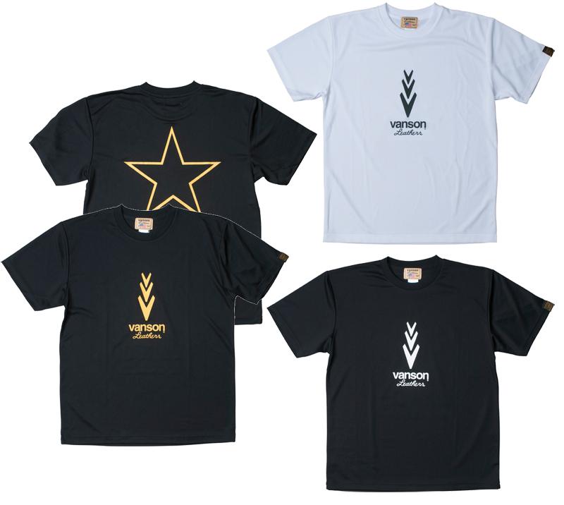 VANSON VS18803S メッシュTシャツ